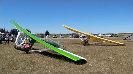 basic ultralight glider